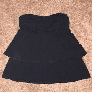 Tops - American Eagle Outfitters Strapless Black Top